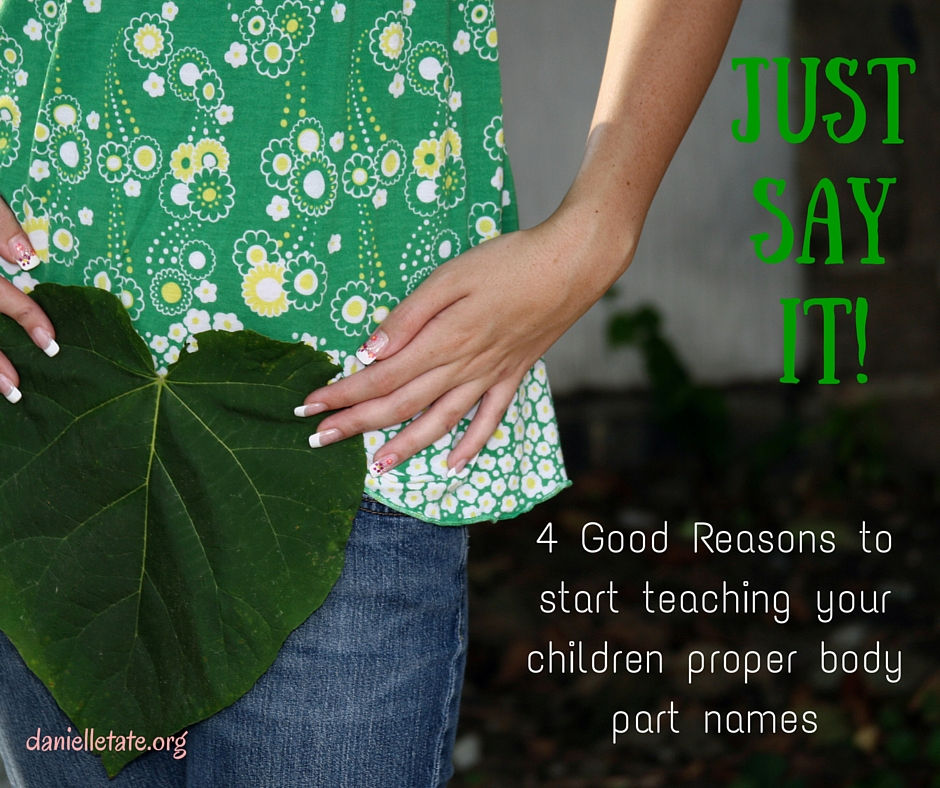 Stop Calling It A Winkie! 4 Good Reasons for Teaching Kids Proper Body Part Names