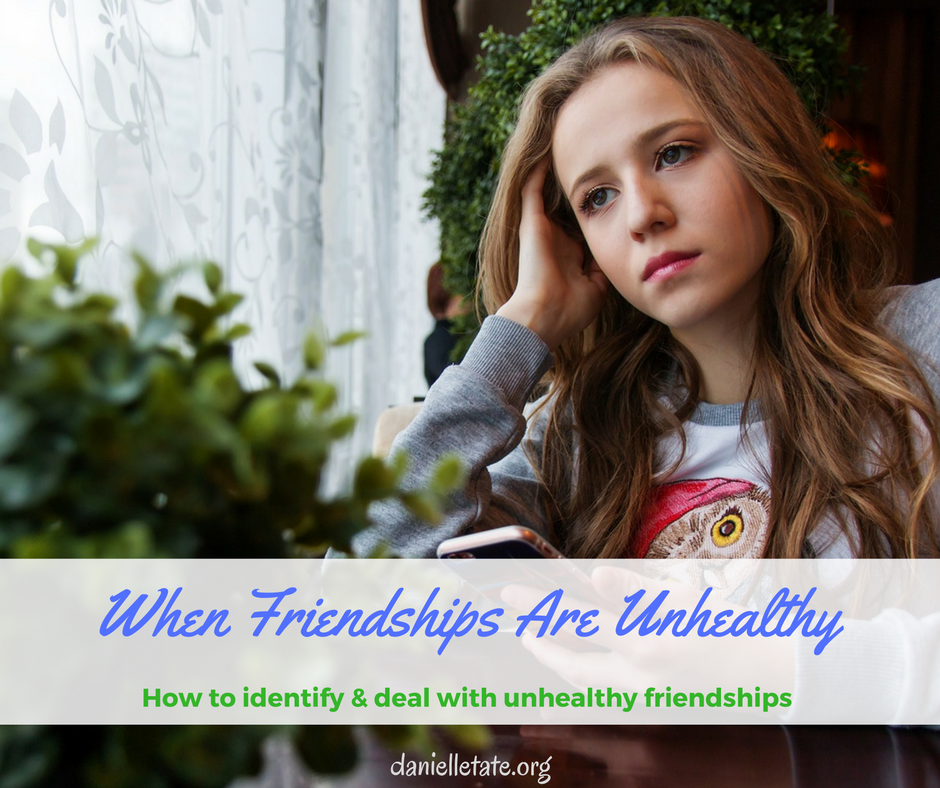 When Friends Really Aren't – Identifying Unhealthy Friendships